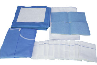 China Custom Disposable Surgical Packs Surgical Pack Delivery Kit OEM Service supplier