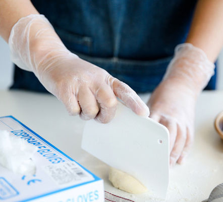 China Disposable Latex Free Gloves For Food Handling Soft And Uniform Thickness supplier