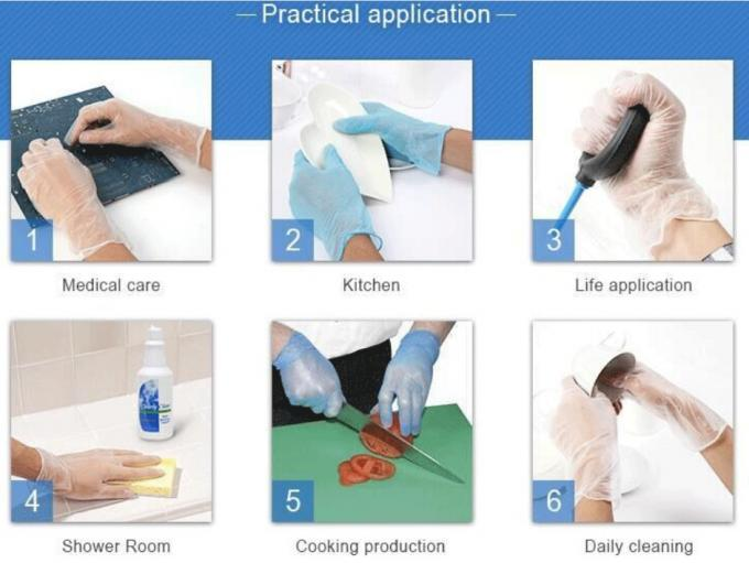 Professiona Latex Free Disposable Gloves Plastic Gloves For Serving Food